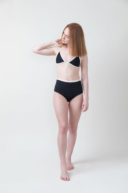 Not Tracked Tavik Jett Triangle Swim Top - Color Blocked