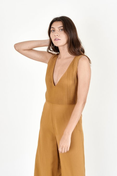 Sancia Bellini Jumpsuit - Cocoa