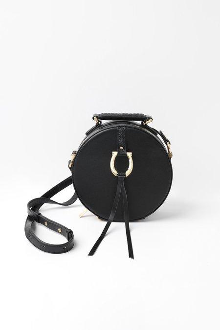 Sancia Luciella Canteen Handbag - Black