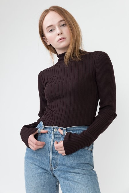 Veda Arrow Sweater - Seal Brown