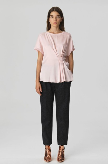 By Malene Birger Linaramma Top - Pink Rose