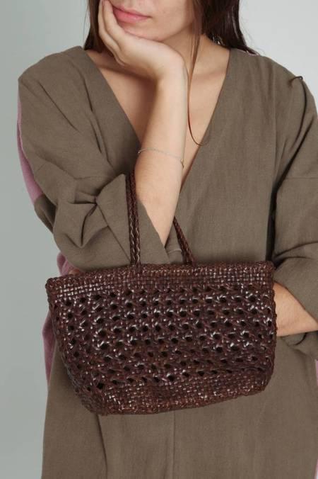 Dragon Diffusion Cannage Bucket Bag Mini - Brown