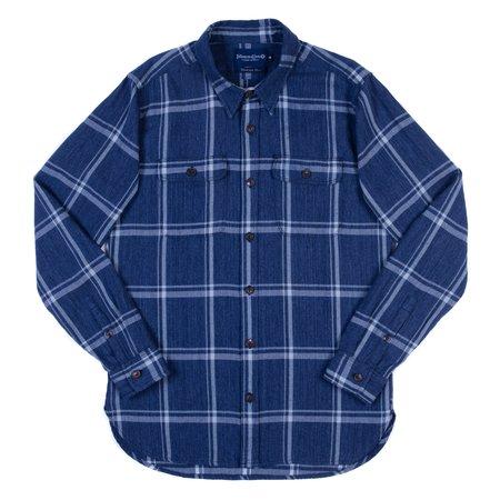Freenote Cloth Jepson Shirt - Blue Check