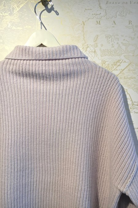 A.L.C. Vassar Ribbed Funnel Neck Sweater