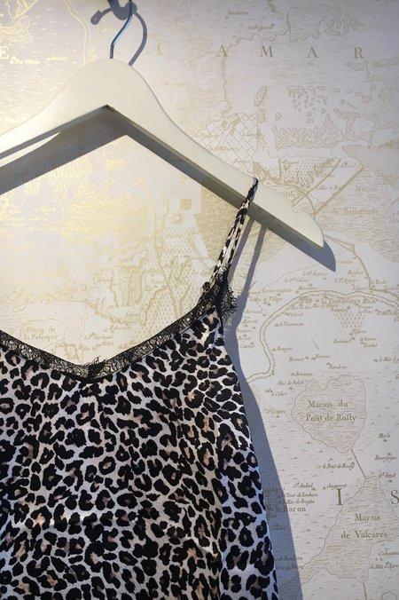 Anine Bing Silk Camisole - Leopard