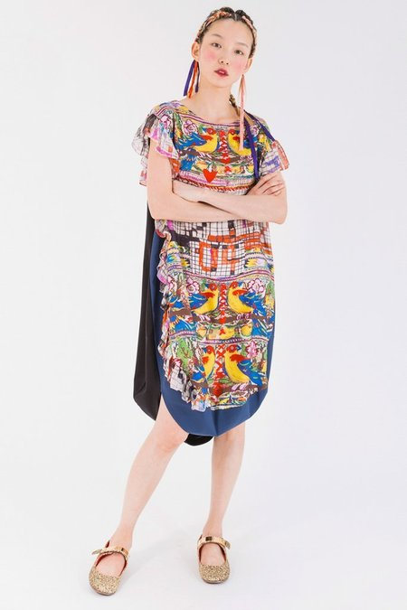 Tsumori Chisato Guatemala Bird Dress