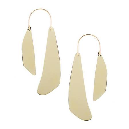 Baleen Mobile Earrings No 2 - GOLD PLATED