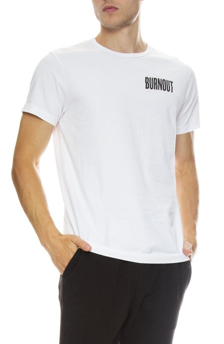 Hiro Clark Burnout Tee - White