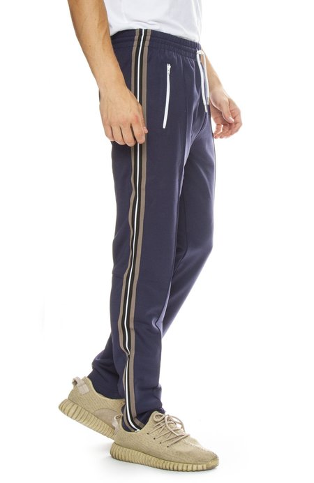 Belstaff Cambrose Side-Stripe Jogging Pant - Dark Navy