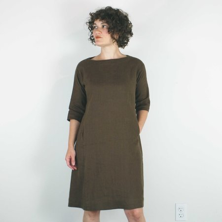 Sugar Candy Mountain Nico Dress - Brown