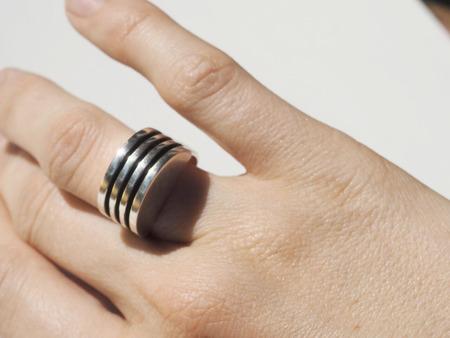 AGMES Boeri Ring - Sterling Silver
