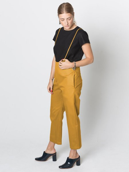 Beth Hoyt Pant - Gold Twill