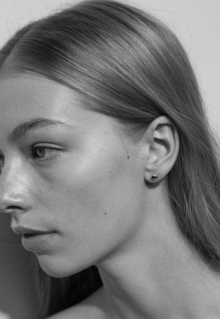 Meadowlark Pebble Stud Earrings - Silver