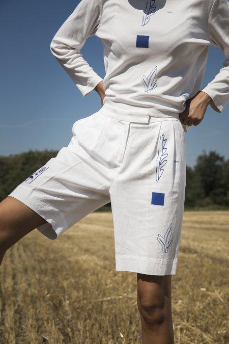 Projekt Eva Vintage Shorts - White