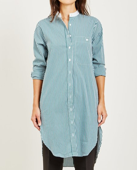 Closed STRIPED SHIRT DRESS - BASIL