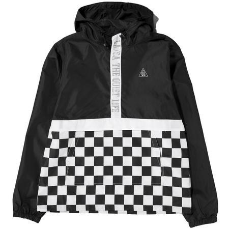 Quiet Life City Limits Checker Pullover - Black Checker