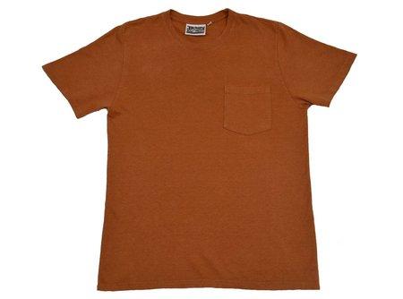 Unisex Jungmaven Baja Short Sleeve Pocket Tee - Terracotta