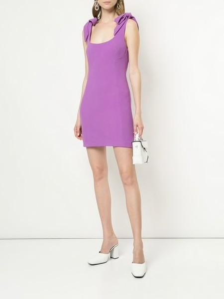 Rebecca Vallance Dahlia Mini Dress - Iris Orchid