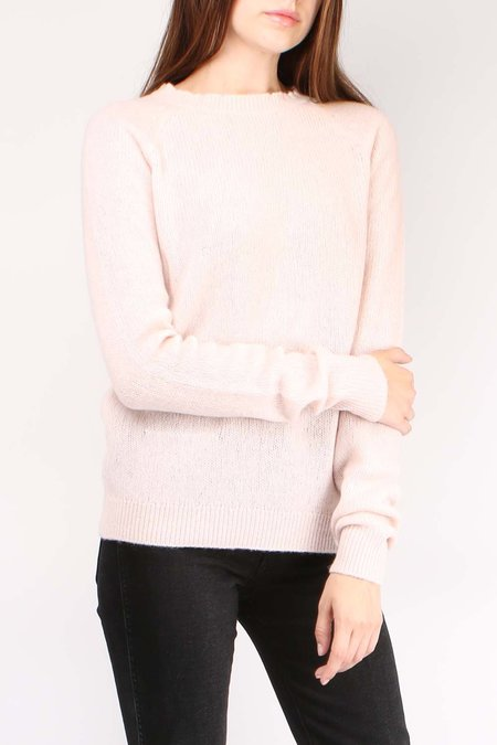 Sibel Saral Feather Sweater - Blush