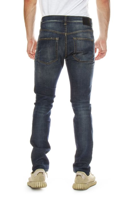 R13 Skate Skinny Jean - Vintage Blue