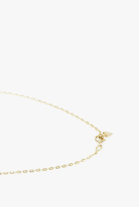 "Loren Stewart 16"" Baby Gucci Chain Necklace - 14k Yellow Gold"