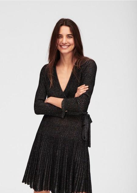 Tara Jarmon Mid-length Knitted Dress - Black