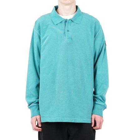 Cav Empt Overdye Rib Long Sleeve Polo Shirt
