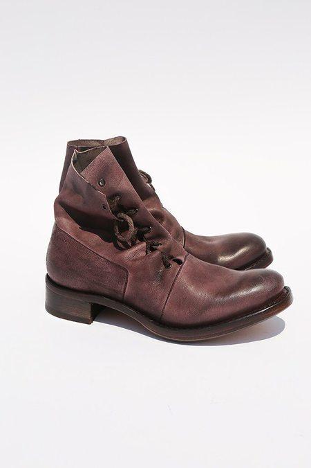 Cherevichkiotvichki Asymmetric Factory Goodyear Boot - Purple