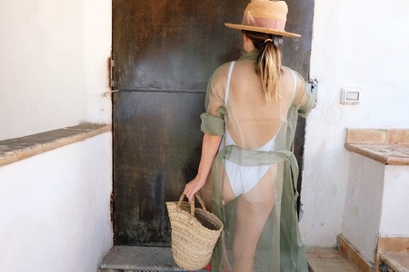 Indecent Silk Robe