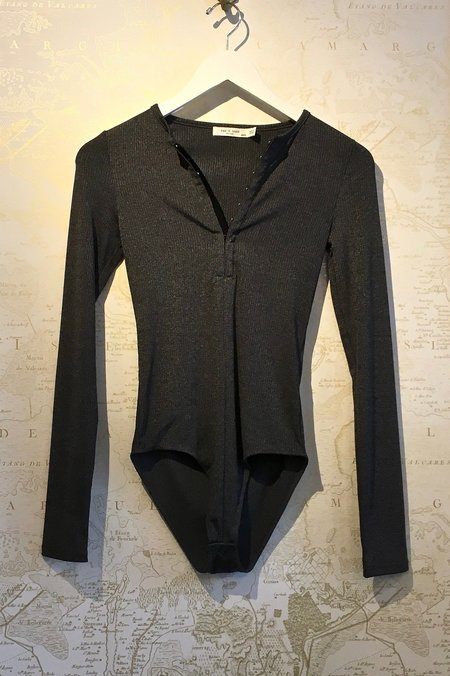 Rag & Bone Mica Long Sleeve Bodysuit