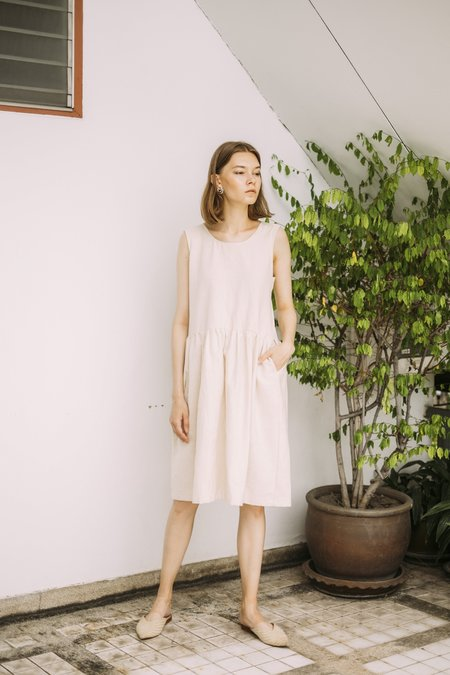 Seeker x Retriever Harvest Dress - Natural