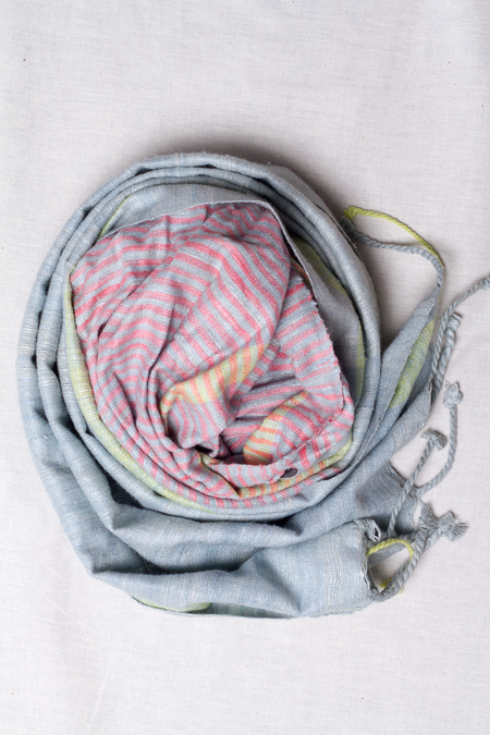 Sustainable Threads Cruelty-Free Silk Scarf - Unity