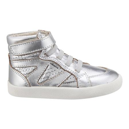 KIDS Old Soles Child Starter Shoes - Silver