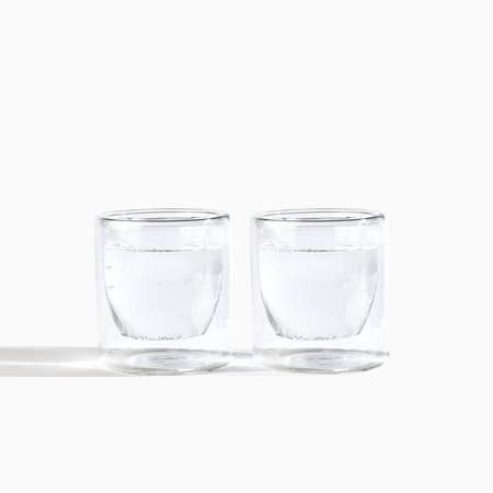 Yield Glass Set of 2 - Clear