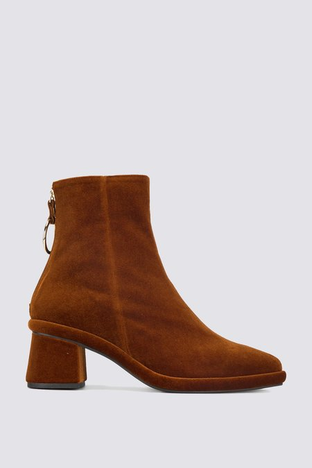 Reike Nen Velvet Ring Slim Boots - Copper