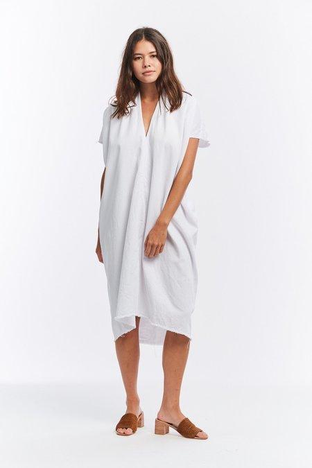 Miranda Bennett Denim Everyday Dress - White