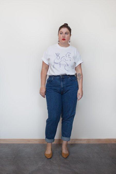 Hazel & Rose Vintage Chic Jeans - Blue