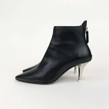 AGL Pointed Toe Boot - BLACK