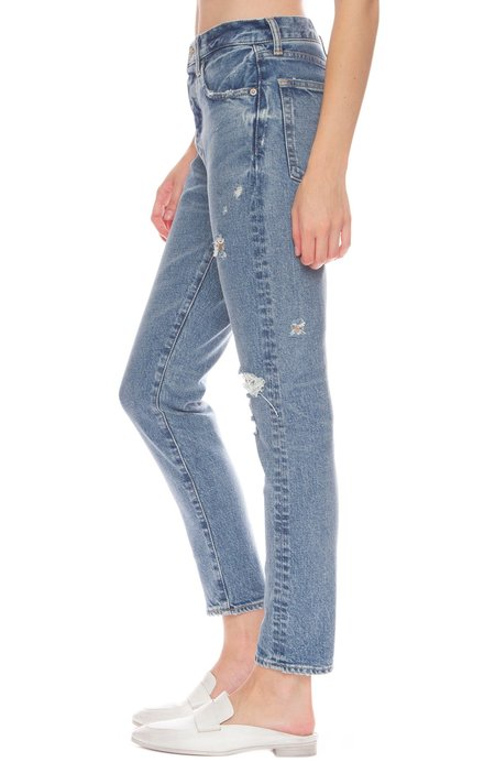 Moussy Vintage Isabel High-Rise Tapered Skinny Jeans