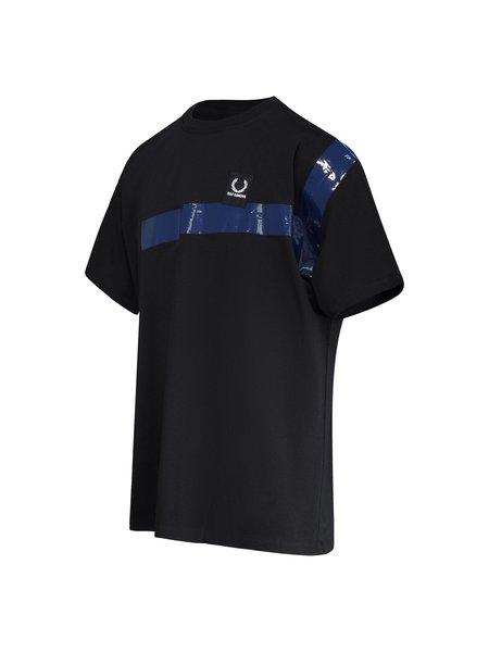 Raf Simons X Fred Perry Tape Detail T-Shirt - Black