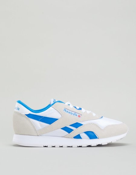 Reebok Classic Nylon Archive Sneakers - White / Cycle Blue