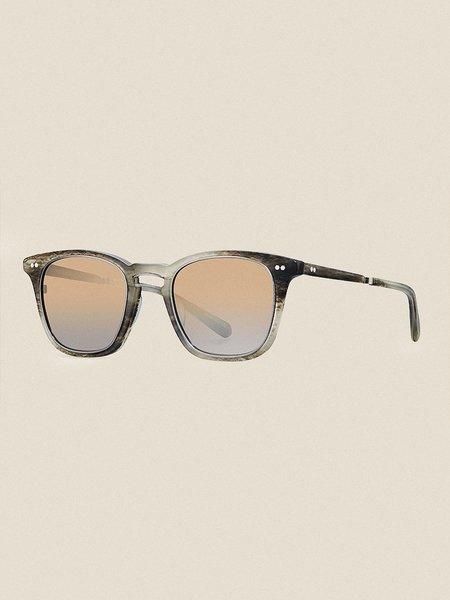 Mr Leight Getty S 48 SUNGLASSES - Arden Pewter/Smokey
