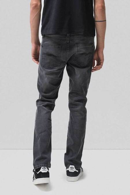Nudie Jeans Lean Dean - Mono Grey