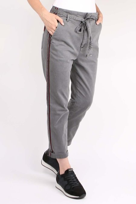 Sundry L'automne Pant with Trim - Charcoal