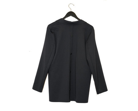Liviana Conti Black Button Blazer - BLACK