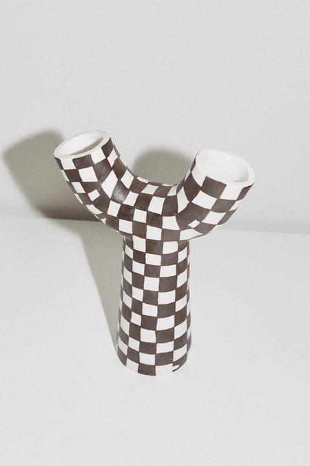 Mellow Porcelain Gemini Vase