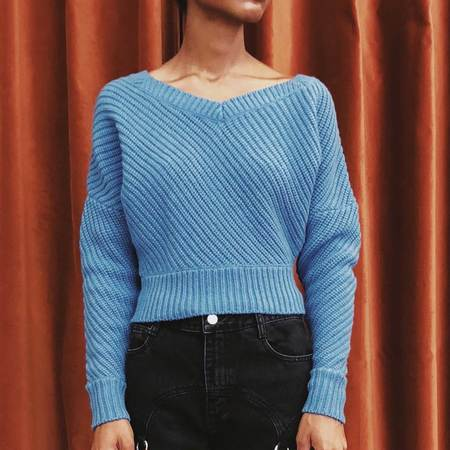 Colovos Cropped Sweater