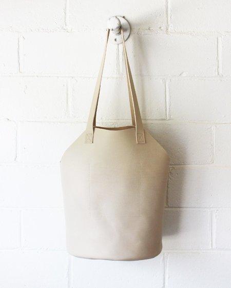 ESBY FISHERMAN CALFSKIN TOTE bag - BONE