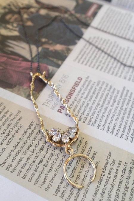 Voodoo Jewels Gold Aurum Necklace
