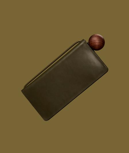 Building Block Book Wallet in Kombu